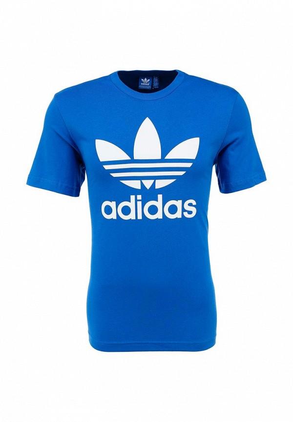 Футболка с надписями Adidas Originals (Адидас Ориджиналс) AB7531: изображение 1
