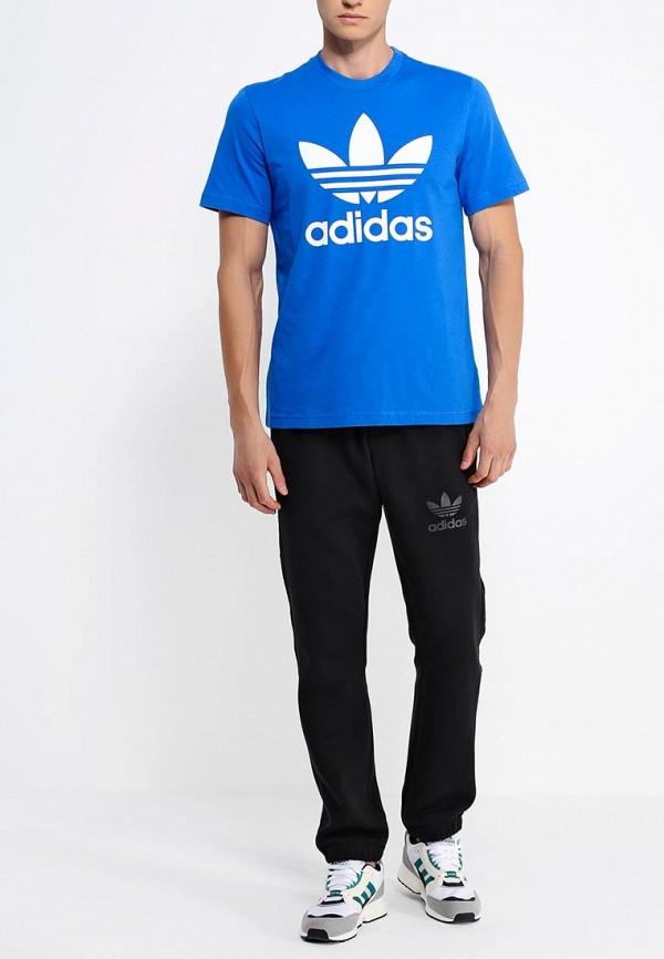 Футболка с надписями Adidas Originals (Адидас Ориджиналс) AB7531: изображение 3