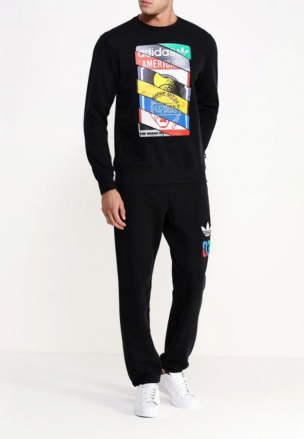 Толстовка Adidas Originals (Адидас Ориджиналс) AB7687: изображение 2