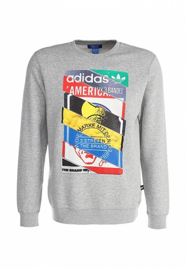 Флисовая толстовка Adidas Originals (Адидас Ориджиналс) AB7688: изображение 1
