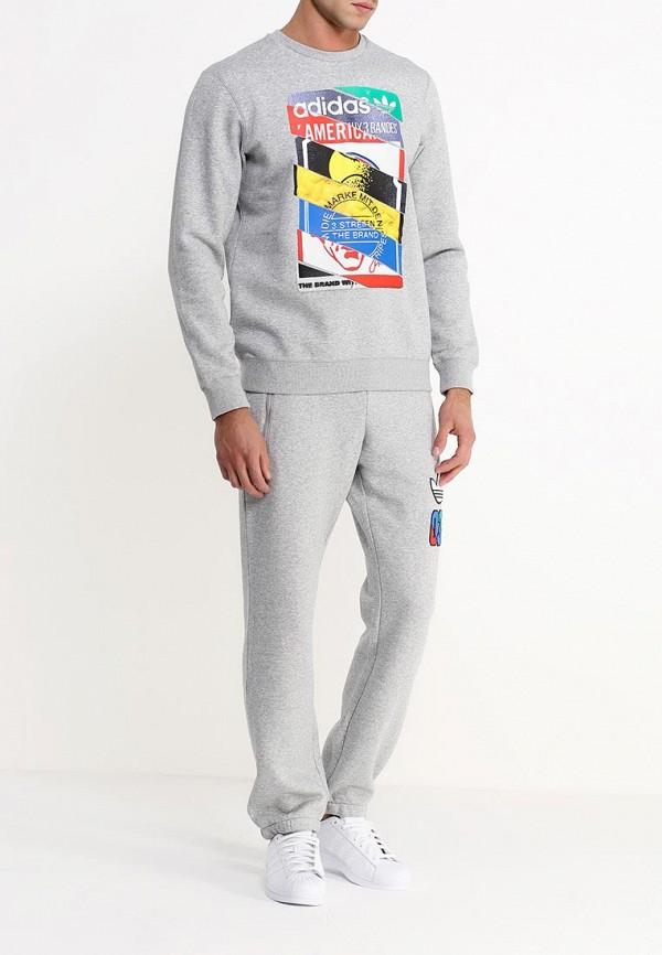 Флисовая толстовка Adidas Originals (Адидас Ориджиналс) AB7688: изображение 2