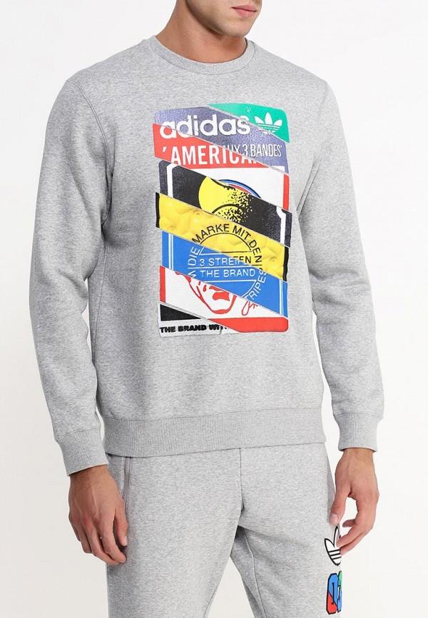 Флисовая толстовка Adidas Originals (Адидас Ориджиналс) AB7688: изображение 3