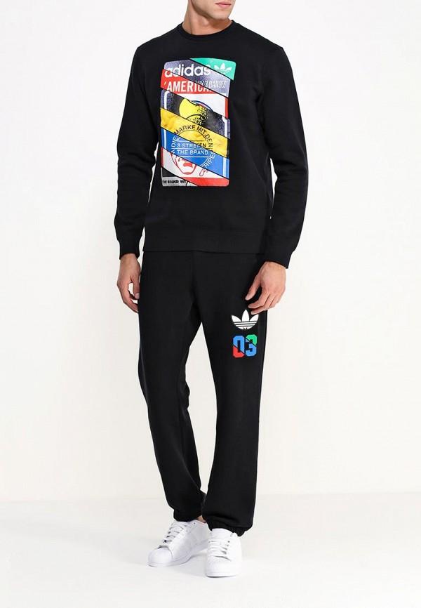 Мужские спортивные брюки Adidas Originals (Адидас Ориджиналс) AB7694: изображение 2