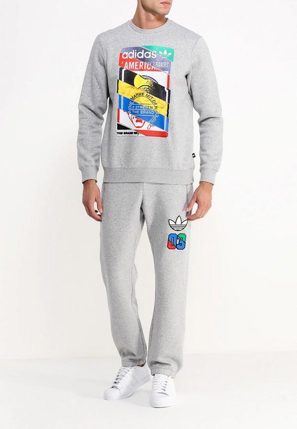 Мужские спортивные брюки Adidas Originals (Адидас Ориджиналс) AB7695: изображение 2