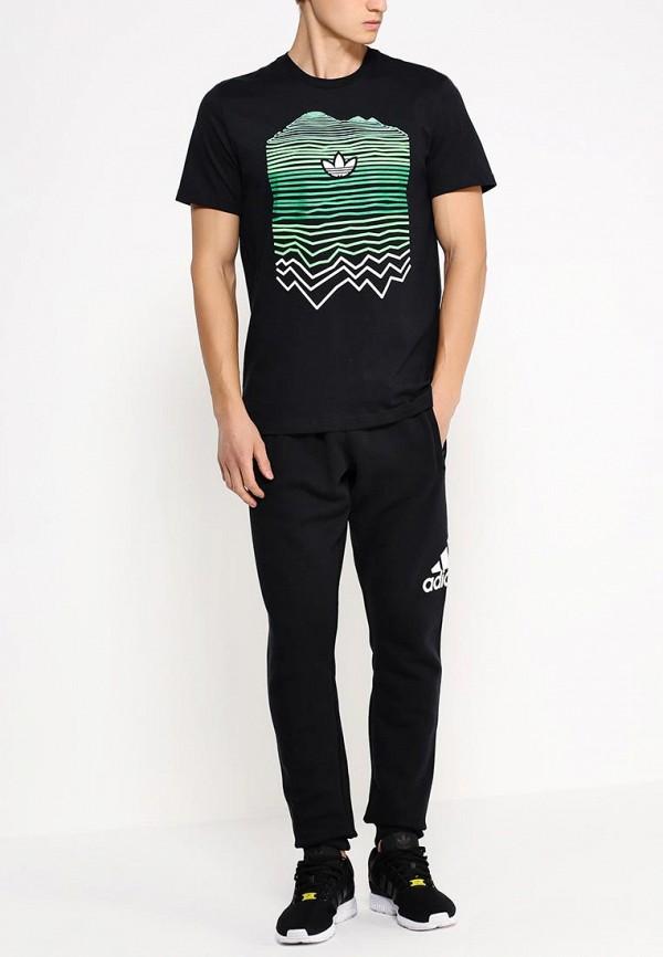 Футболка с надписями Adidas Originals (Адидас Ориджиналс) AB9541: изображение 3