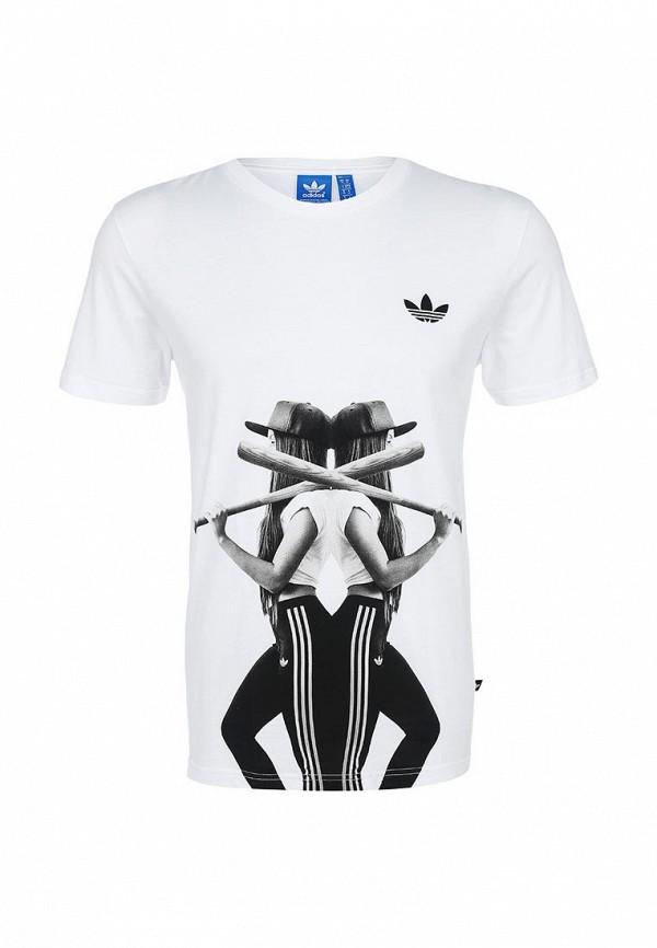 Футболка с коротким рукавом Adidas Originals (Адидас Ориджиналс) AB9583: изображение 1