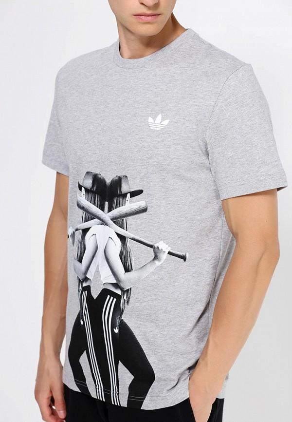 Футболка с фотопринтами Adidas Originals (Адидас Ориджиналс) AC1789: изображение 2
