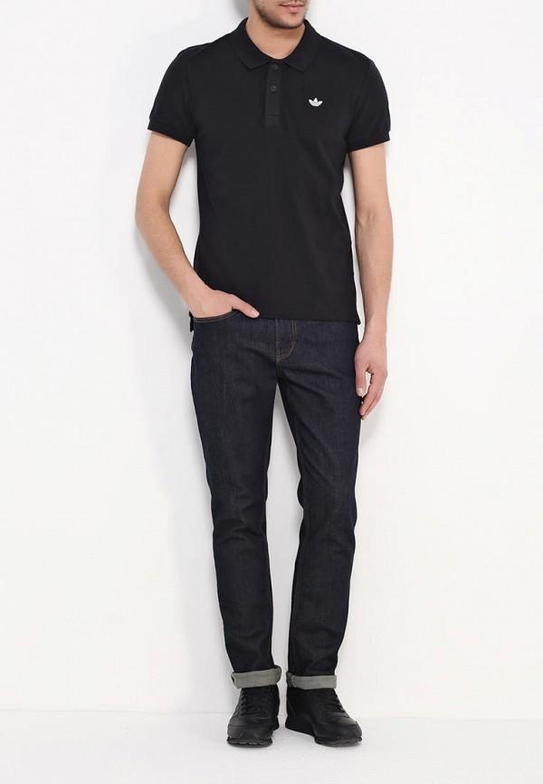Мужские поло Adidas Originals (Адидас Ориджиналс) AB8298: изображение 2