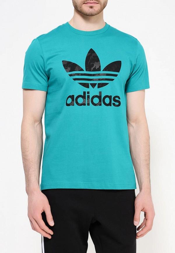 Футболка с коротким рукавом Adidas Originals (Адидас Ориджиналс) AJ6910: изображение 4