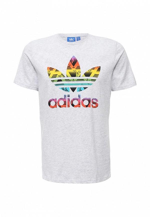 Футболка с надписями Adidas Originals (Адидас Ориджиналс) AJ6920