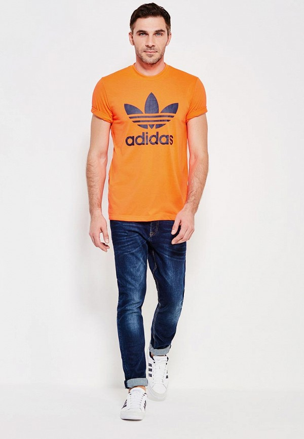 Футболка с коротким рукавом Adidas Originals (Адидас Ориджиналс) AJ6963: изображение 3