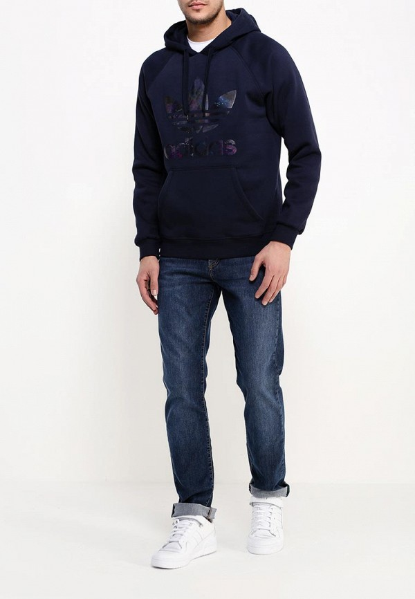 Мужские худи Adidas Originals (Адидас Ориджиналс) AJ6992: изображение 2
