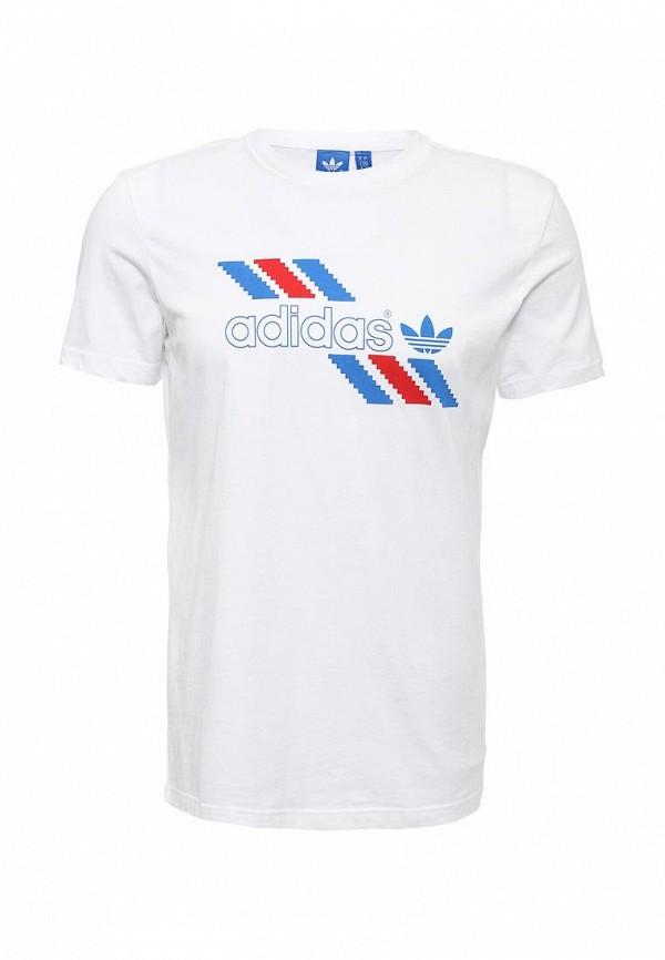 Футболка с коротким рукавом Adidas Originals (Адидас Ориджиналс) AJ7103: изображение 1