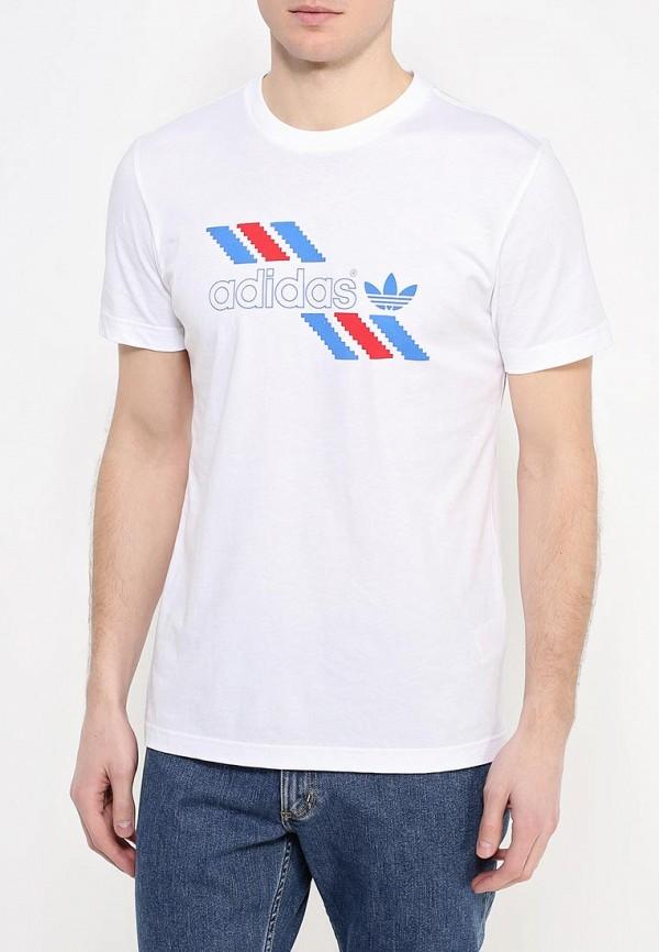Футболка с коротким рукавом Adidas Originals (Адидас Ориджиналс) AJ7103: изображение 4