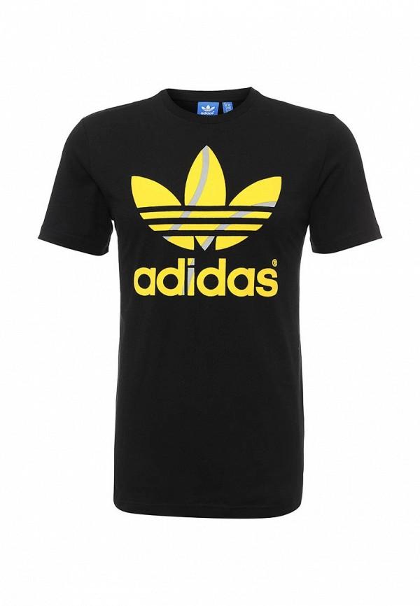 Футболка с надписями Adidas Originals (Адидас Ориджиналс) AJ7105: изображение 2