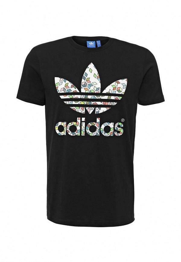 Футболка с надписями Adidas Originals (Адидас Ориджиналс) AJ7108