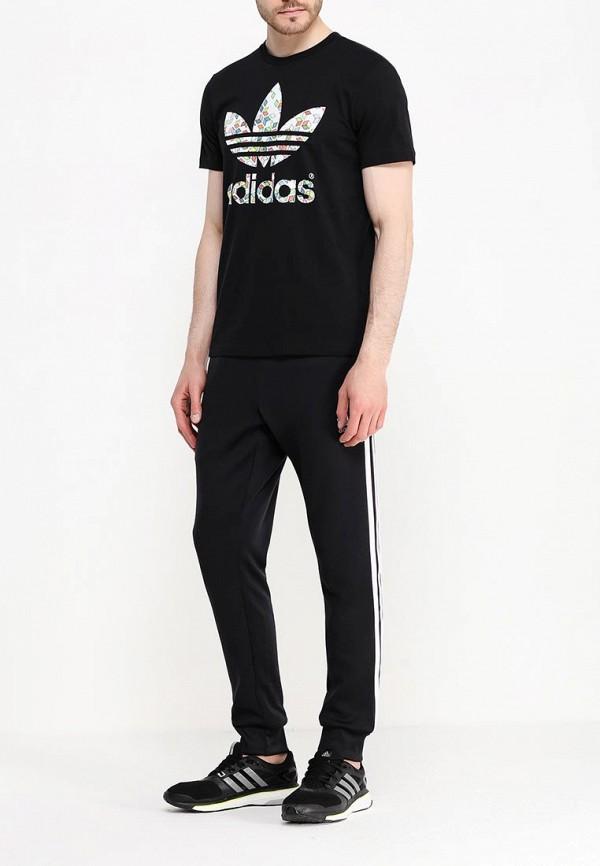 Футболка с надписями Adidas Originals (Адидас Ориджиналс) AJ7108: изображение 2