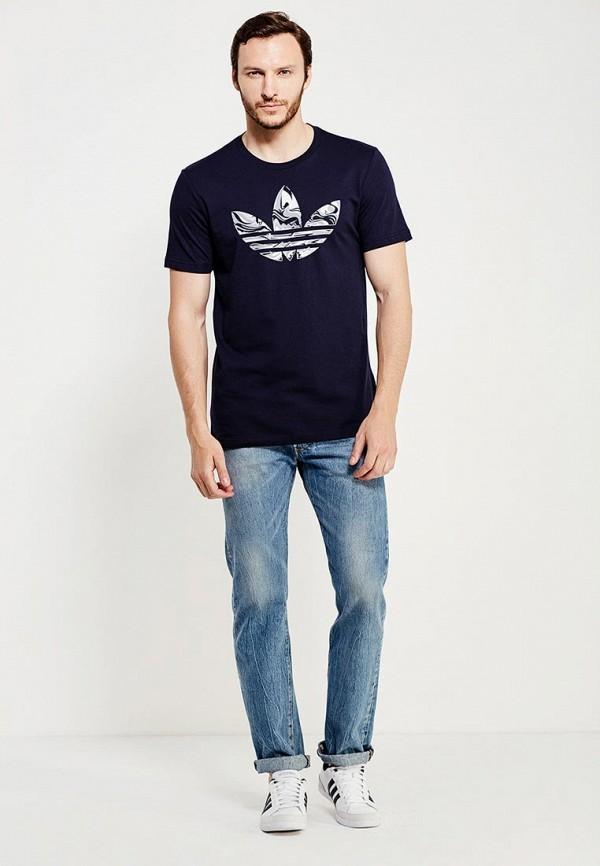 Футболка с коротким рукавом Adidas Originals (Адидас Ориджиналс) AJ7125: изображение 3