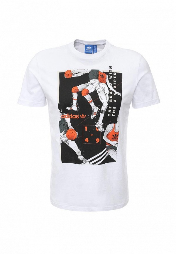Футболка adidas Originals TONGUE BBALL T