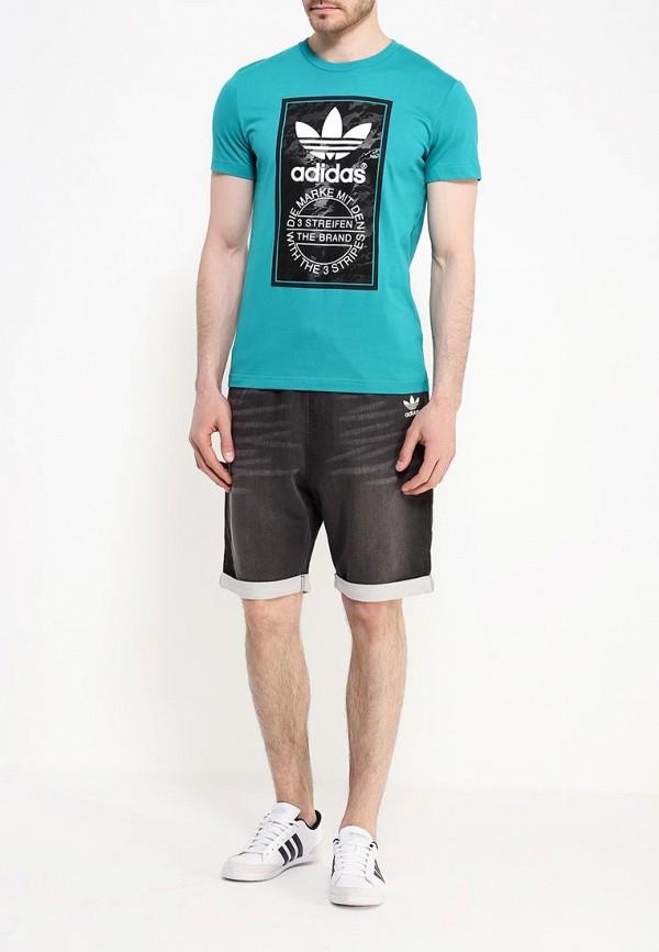 Футболка с коротким рукавом Adidas Originals (Адидас Ориджиналс) AJ7148: изображение 2