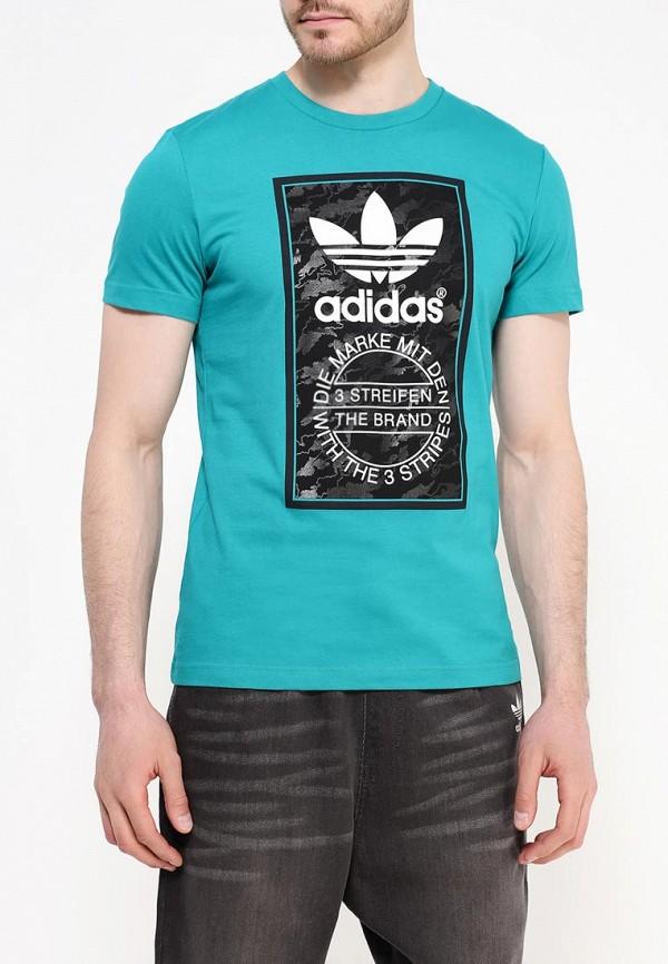 Футболка с коротким рукавом Adidas Originals (Адидас Ориджиналс) AJ7148: изображение 3