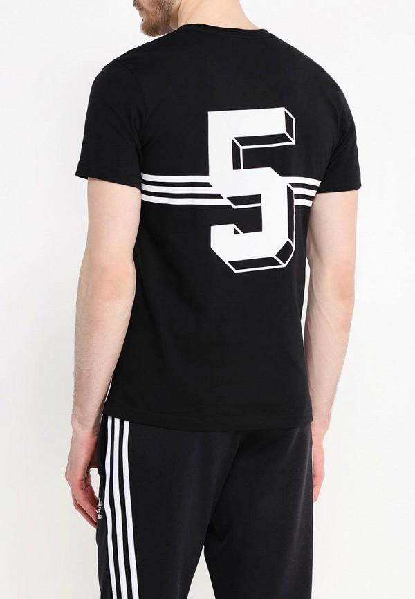 Футболка с надписями Adidas Originals (Адидас Ориджиналс) AJ7155: изображение 4