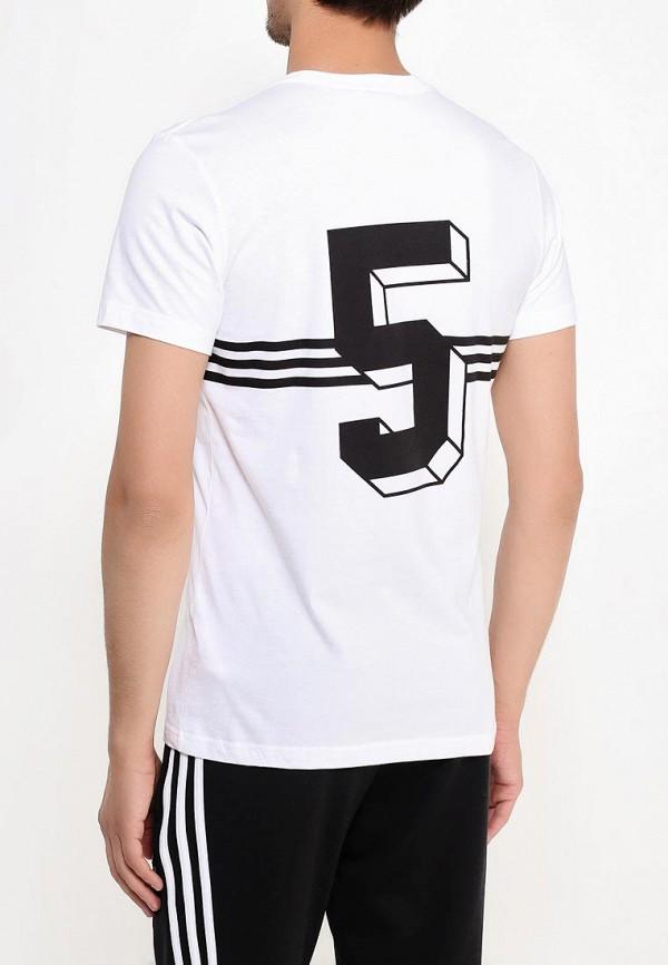 Футболка с надписями Adidas Originals (Адидас Ориджиналс) AJ7156: изображение 4