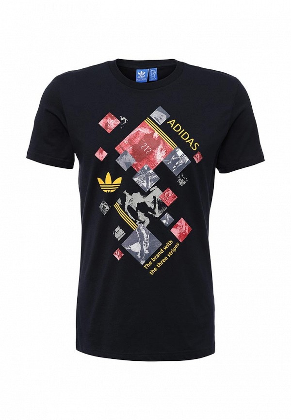 Футболка adidas Originals RUN COLLAGE TEE
