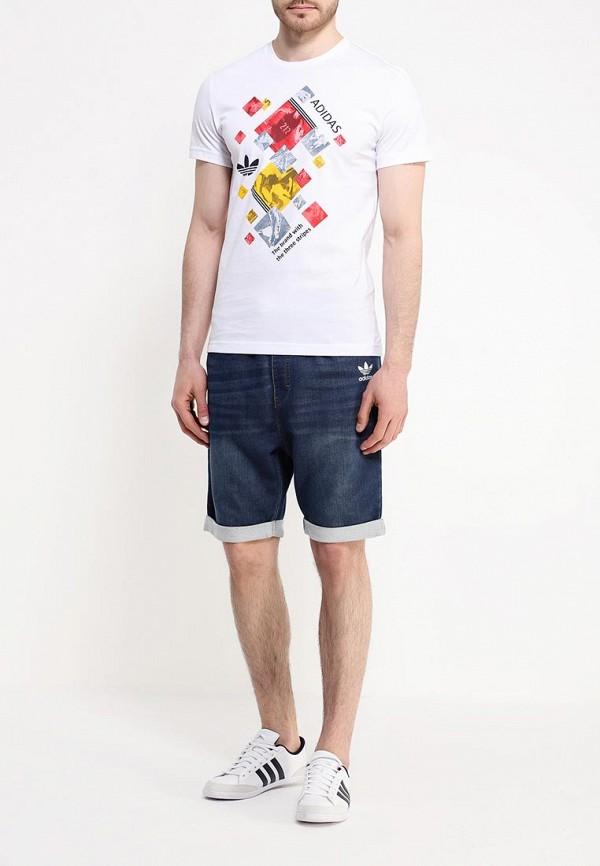 Спортивная футболка Adidas Originals (Адидас Ориджиналс) AJ7160: изображение 2