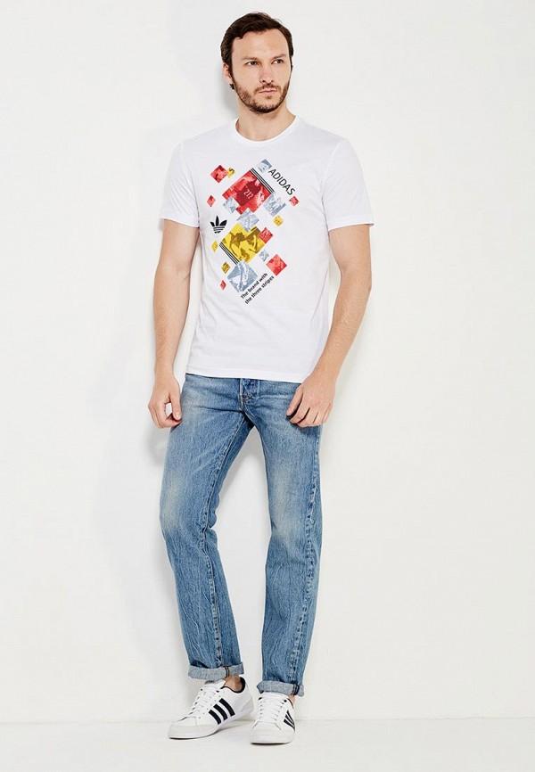 Спортивная футболка Adidas Originals (Адидас Ориджиналс) AJ7160: изображение 3