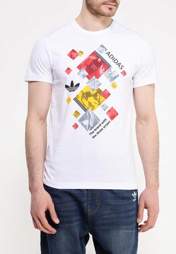 Спортивная футболка Adidas Originals (Адидас Ориджиналс) AJ7160: изображение 4