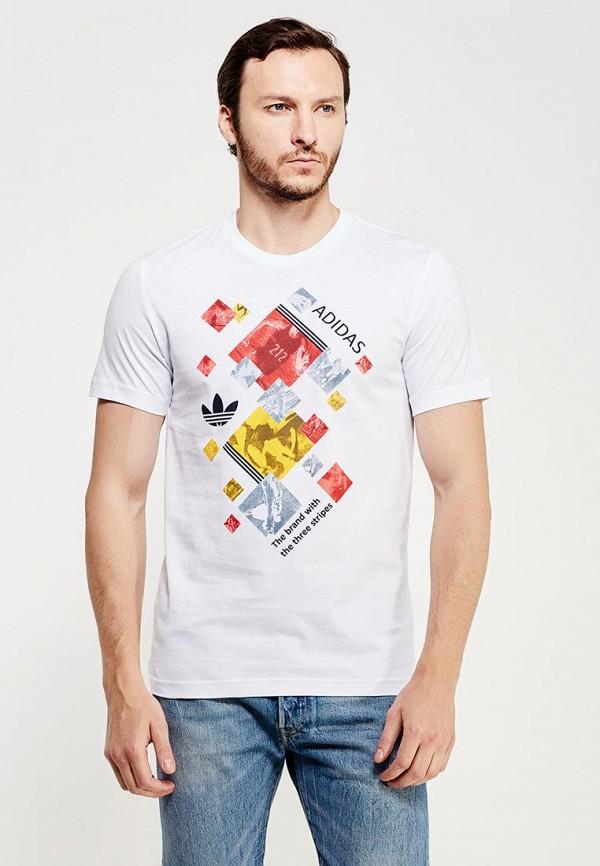 Спортивная футболка Adidas Originals (Адидас Ориджиналс) AJ7160: изображение 5