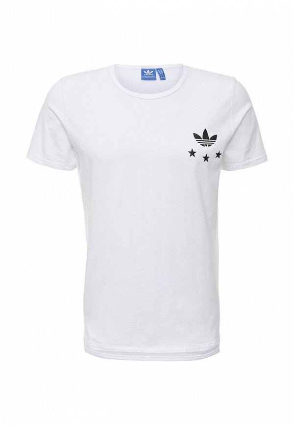 Футболка с надписями Adidas Originals (Адидас Ориджиналс) AJ7167: изображение 1