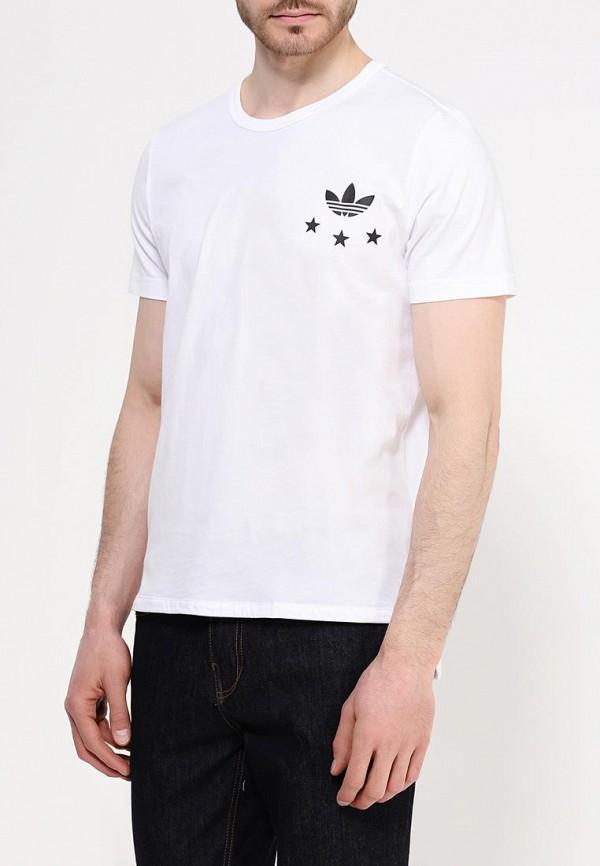 Футболка с надписями Adidas Originals (Адидас Ориджиналс) AJ7167: изображение 3