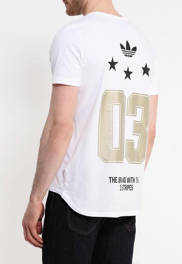 Футболка с надписями Adidas Originals (Адидас Ориджиналс) AJ7167: изображение 4