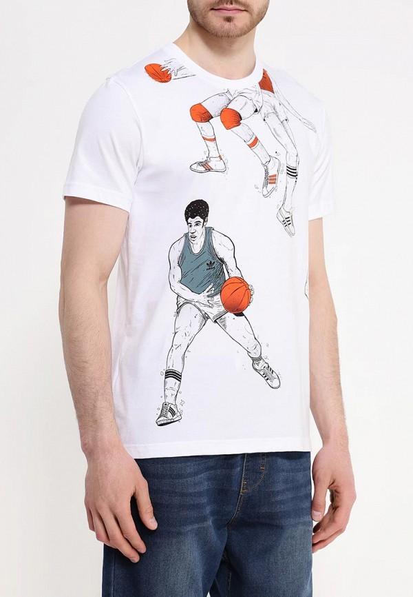 Футболка с коротким рукавом Adidas Originals (Адидас Ориджиналс) AJ7170: изображение 3