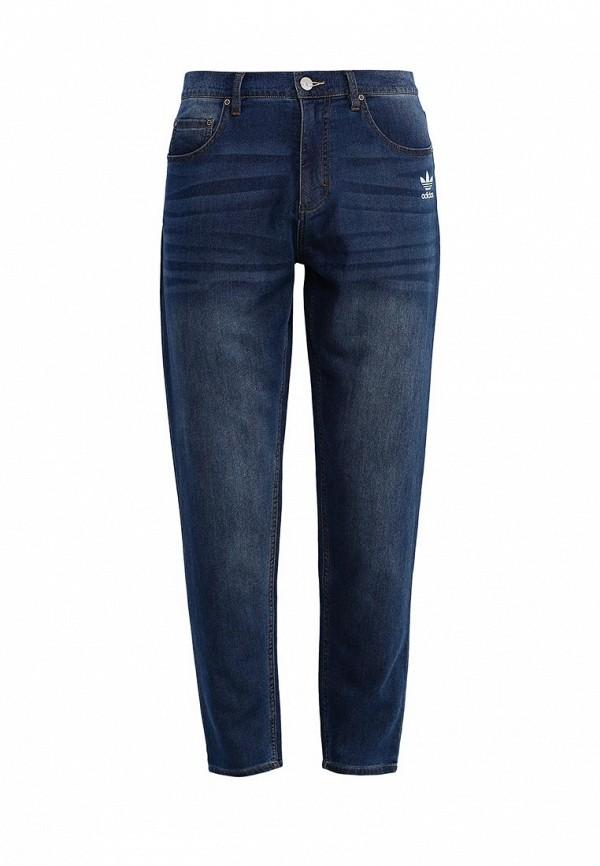 Зауженные джинсы Adidas Originals (Адидас Ориджиналс) AJ7738: изображение 1