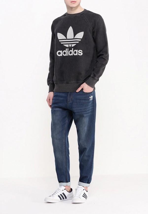 Зауженные джинсы Adidas Originals (Адидас Ориджиналс) AJ7738: изображение 3