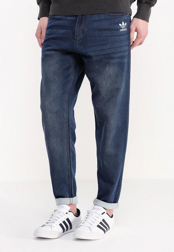 Зауженные джинсы Adidas Originals (Адидас Ориджиналс) AJ7738: изображение 4