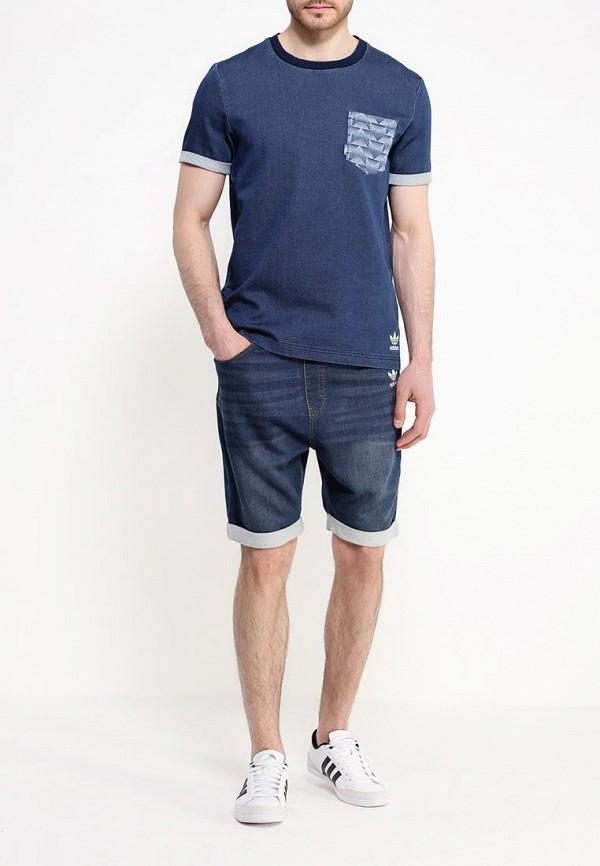 Мужские повседневные шорты Adidas Originals (Адидас Ориджиналс) AJ7744: изображение 2