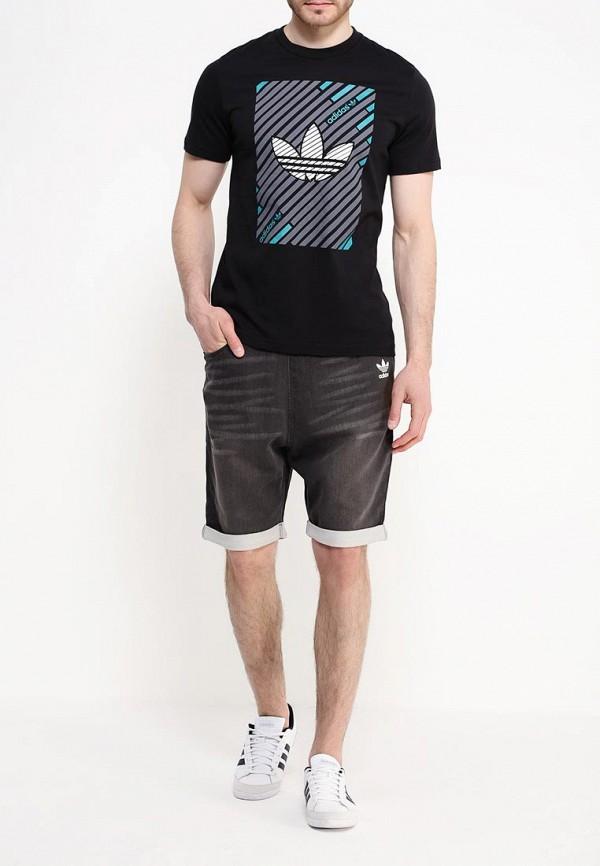 Мужские повседневные шорты Adidas Originals (Адидас Ориджиналс) AJ7746: изображение 2