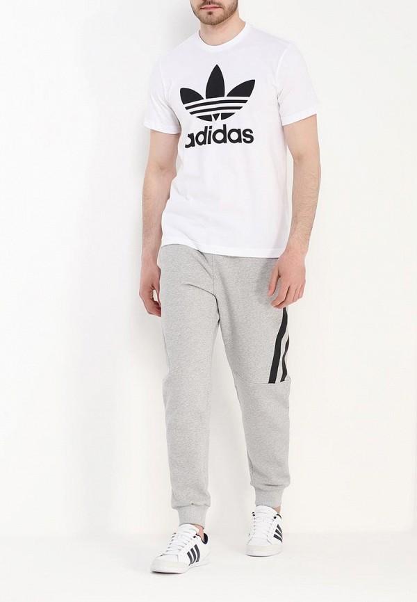 Футболка с надписями Adidas Originals (Адидас Ориджиналс) AJ8828: изображение 2