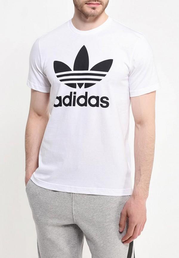 Футболка с надписями Adidas Originals (Адидас Ориджиналс) AJ8828: изображение 3