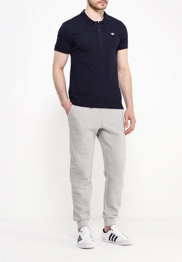Мужские поло Adidas Originals (Адидас Ориджиналс) AO0243: изображение 2