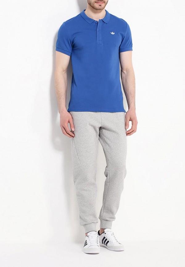 Мужские поло Adidas Originals (Адидас Ориджиналс) AO0244: изображение 2