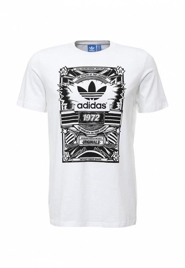 Футболка с коротким рукавом Adidas Originals (Адидас Ориджиналс) S93066: изображение 2