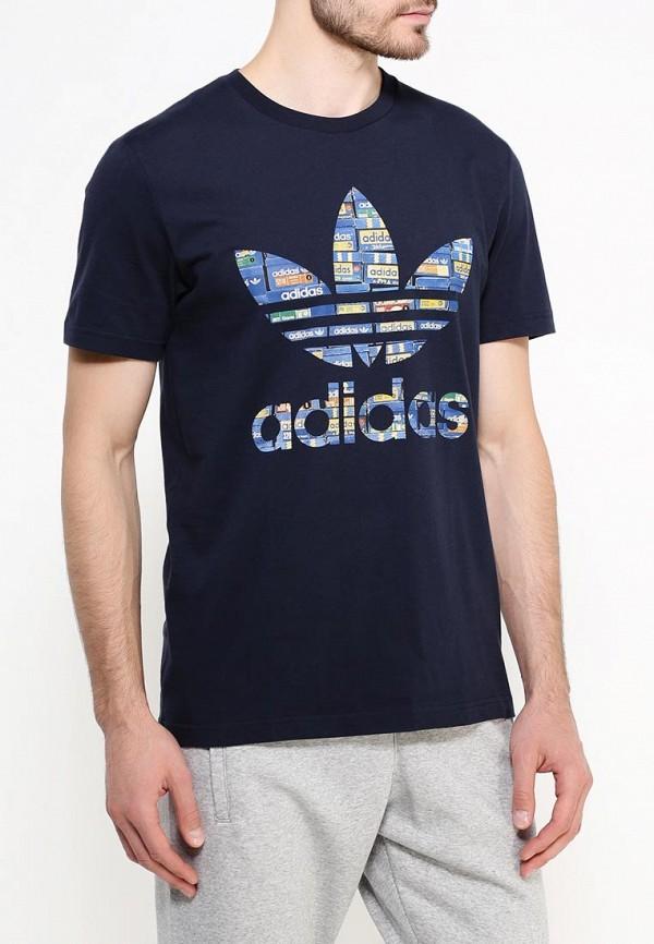 Футболка с коротким рукавом Adidas Originals (Адидас Ориджиналс) AJ6916: изображение 4