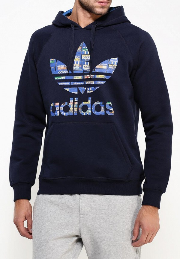 Мужские худи Adidas Originals (Адидас Ориджиналс) AJ6968: изображение 3
