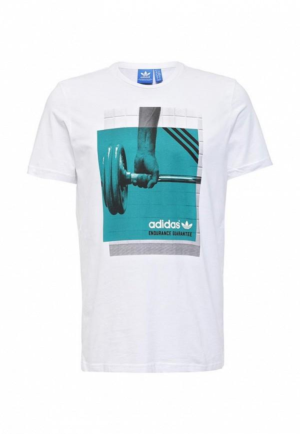 Футболка с фотопринтами Adidas Originals (Адидас Ориджиналс) AJ7183: изображение 1