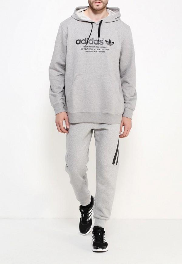 Мужские худи Adidas Originals (Адидас Ориджиналс) AJ7249: изображение 2
